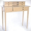 Shaker Writing Desk Plan