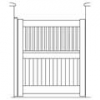 Slatted Garden Gate Plan