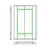 Frame and Panel Door DWG