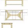 Hayrake Stretcher Table Plan