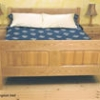 Panelled King Sized Bed DWG